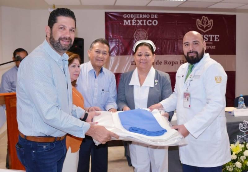 Refuerza ISSSTE-Veracruz servicios médicosen clínicas y hospitales