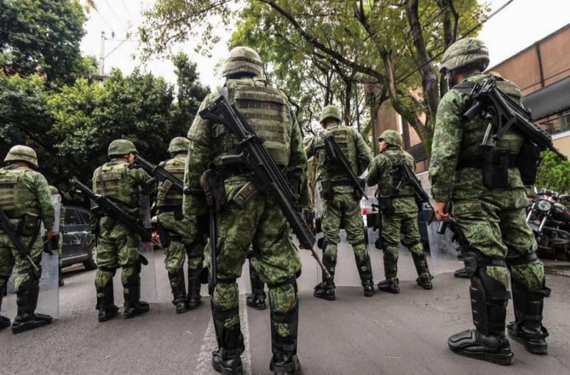 Veracruz con 12 batallones de la Guardia Nacional
