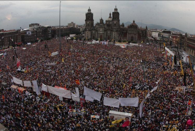 En diciembre terminaremos de arrancar de raíz al régimen corrupto: AMLO