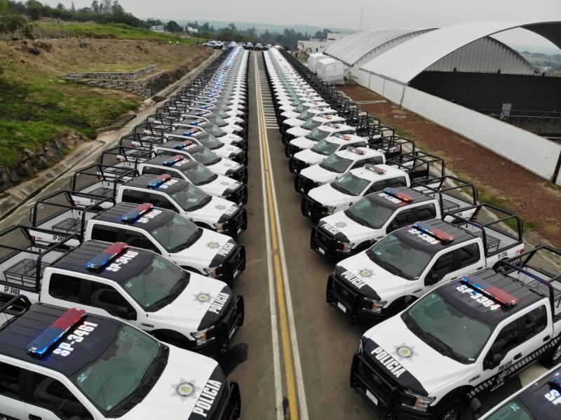 IVAI ordena información sobre la adquisición de 160 patrullas.
