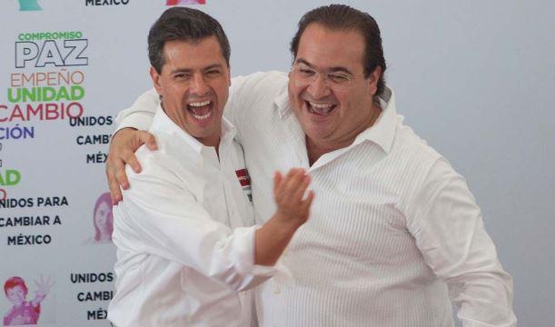 Duarte quiere denunciar a Peña Nieto; está desesperado el ex gobernante