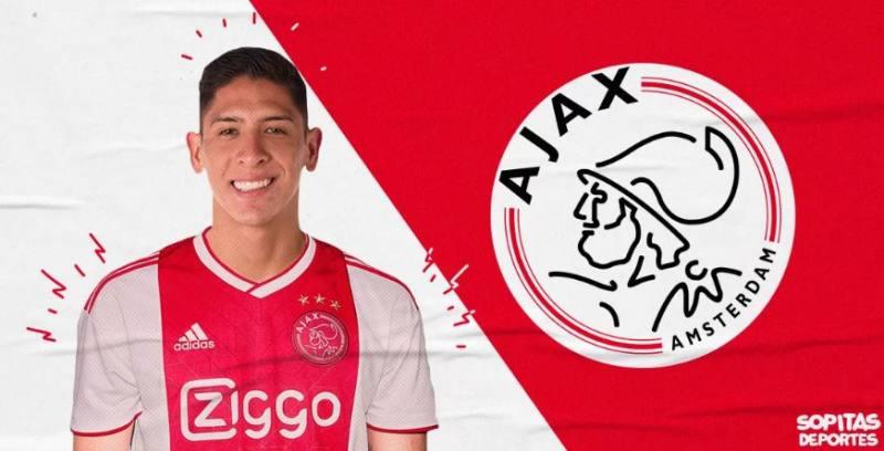 OFICIAL: EDSON ÁLVAREZ ES NUEVO JUGADOR DEL AFC AJAX