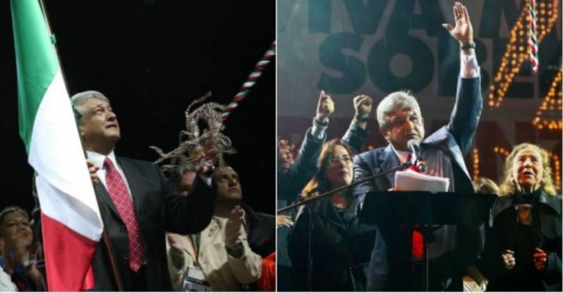 """AMLO dio el Grito 5 veces como """"Presidente legítimo"""""""
