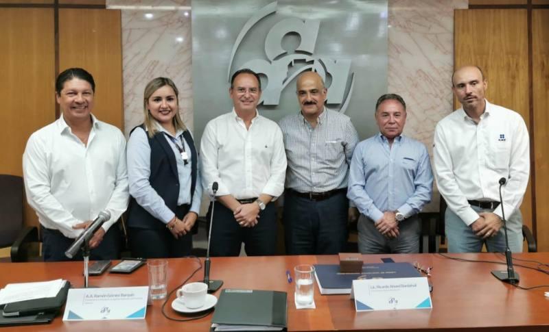 Ahued supervisa la nueva aduana de Veracruz