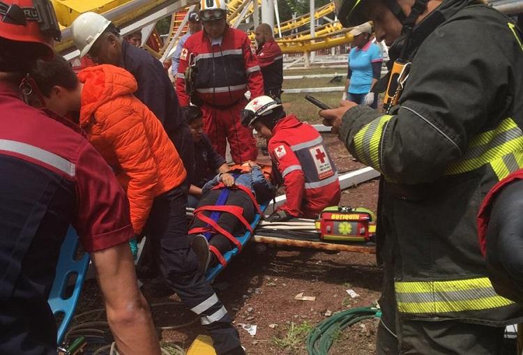 Dos muertos y cinco heridos por accidente en Feria de Chapultepec
