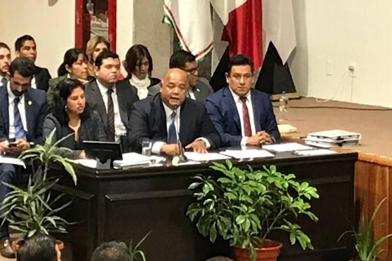 Comparece ante Diputados el Secretario de Gobierno Eric Cisneros