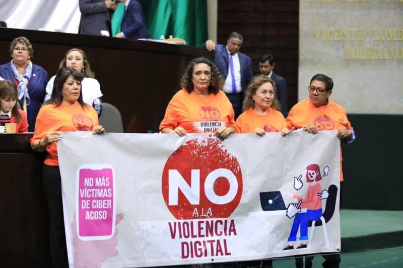 """Diputados aprueban """"Ley Olimpia"""" contra violencia digital hacia las mujeres"""
