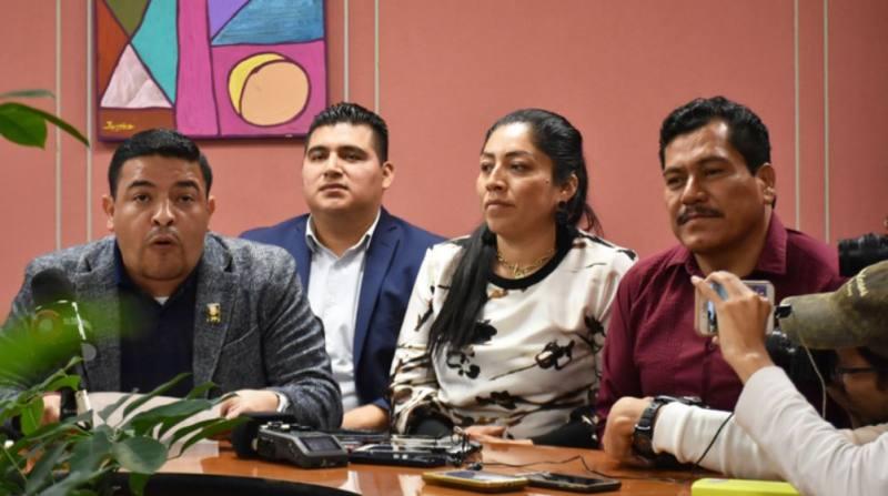 Bancada de Morena respalda a diputados expulsados