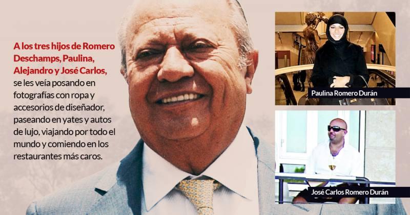 Aún cobran en Pemex los Romero Deschamps... ¡700 mil pesos al mes!