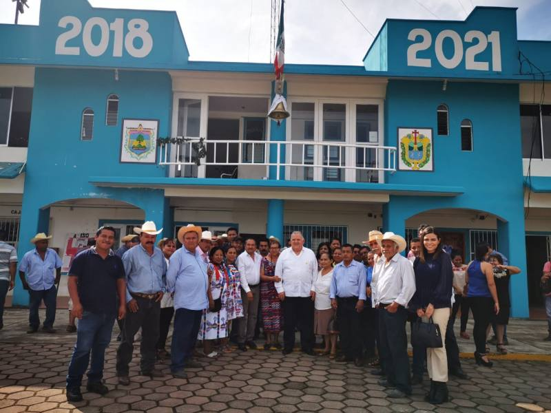 Edel Álvarez Peña, concluye labor en el TSJ con visita a la próxima Ciudad Judicial de Uxpanapa