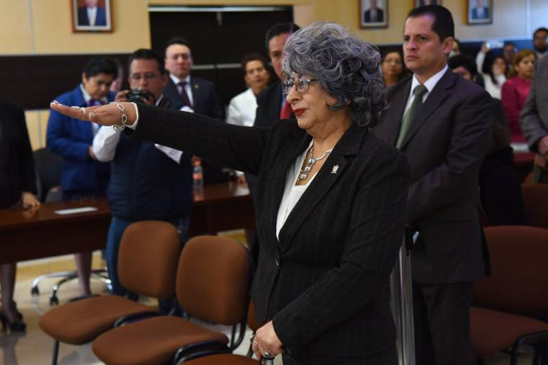 Sofía Martínez Huerta, presidirá el Poder Judicial del Estado