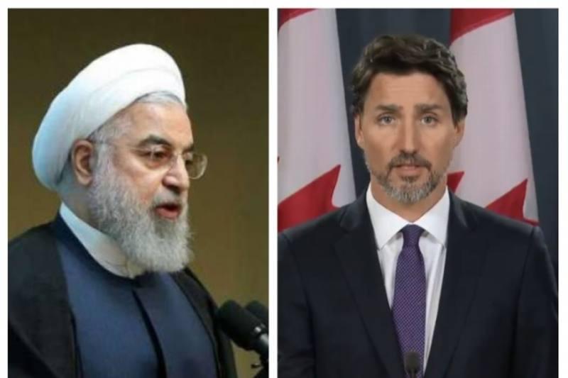 Presidente de Irán dialoga con Trudeau sobre derribo de avión ucraniano