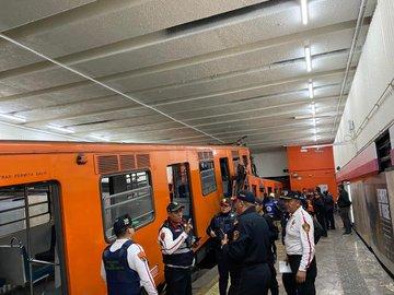 Chocan trenes del Metro de la CDMX; reportan 41 heridos y un muerto