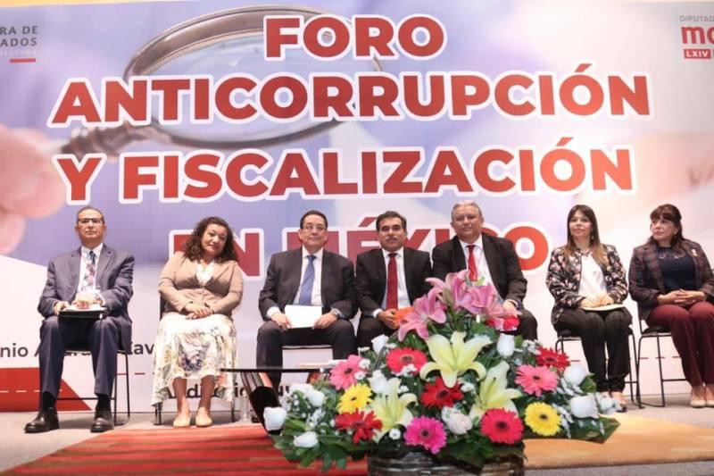 Participa Carmen Mora en el Foro Anticorrupción y Fiscalización en México