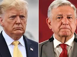 Trump exhibe a AMLO con resultados contra el CJNG