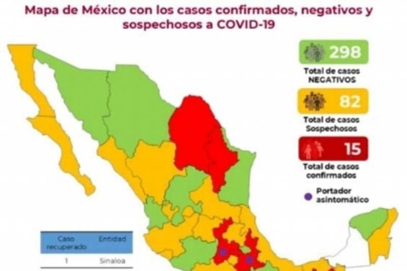 Hay tres casos sospechosos de coronavirus en Veracruz: Secretaría de Salud