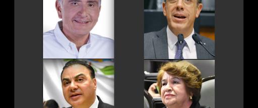 Dos gobernadores y dos diputados federales han dado positivo en prueba de COVID-19