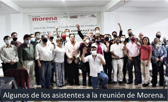 Militancia reclama la candidatura a la alcaldía de Xalapa