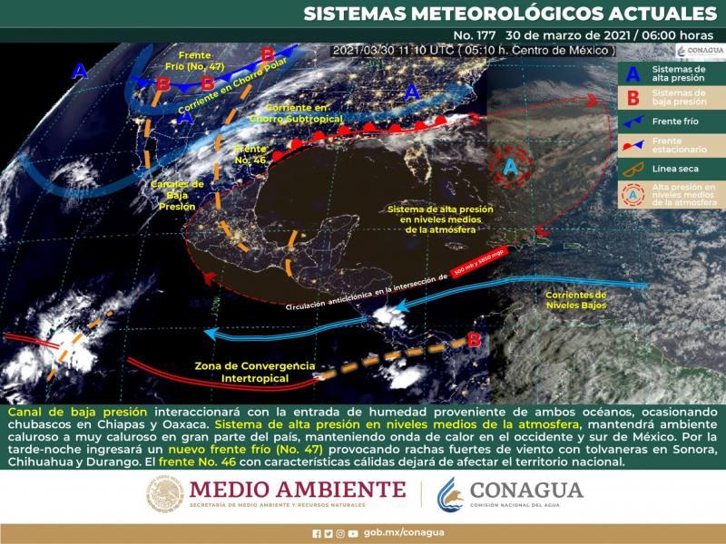 Se mantiene el calor en Veracruz sin descartar lluvias aisladas