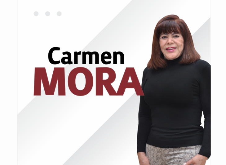 Carmen Mora inicia campaña a la Diputación Federal