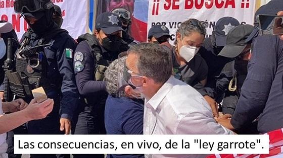 """Diputados corrigen y van contra la """"ley garrote"""""""
