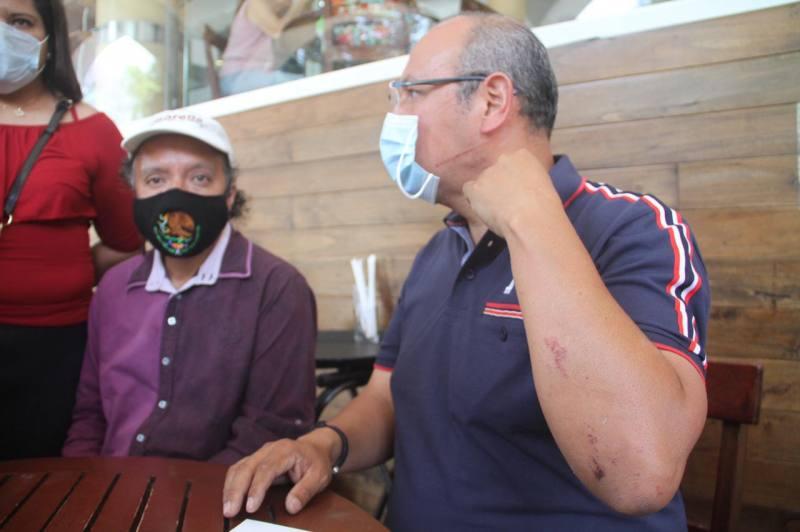 Aspirante a la alcaldía de Emiliano Zapata denunció intento de secuestro