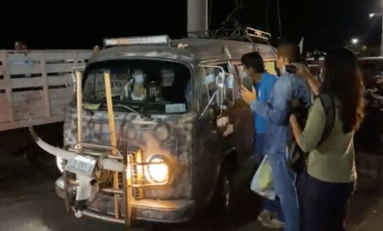 Salgado Macedonio y simpatizantes inician caravana hacia CDMX