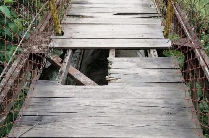 Es culpa de la CFE el mal estado de puente: Alcaldesa
