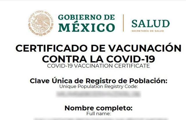 Certificado de Vacunación ¡hasta para hacer pipí!