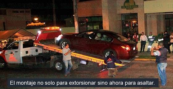 Retenes en Xalapa, de la extorsión al asalto